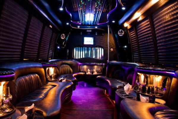 15 Person Party Bus Rental Scottsdale