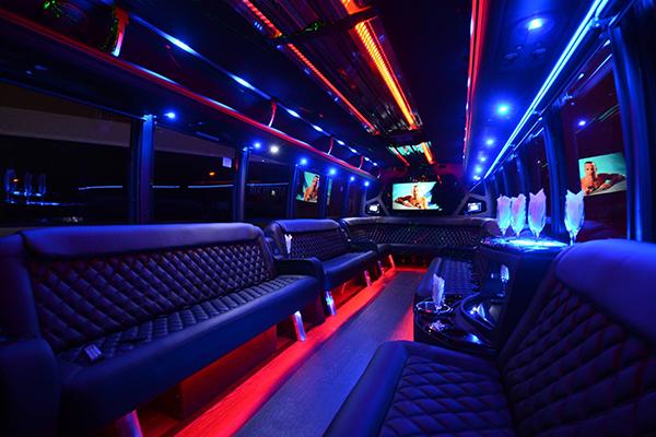 40 Person Party Bus Rental Scottsdale