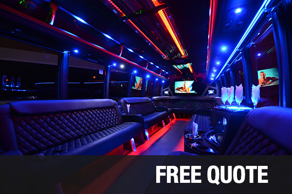 Party Buses For Rental Scottsdale